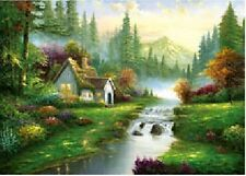 3D Effect Lenticular Printing Moving Picture Wall Decor *The Mountain Scene*
