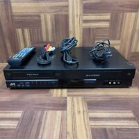JVC DR-MV80B Super Multi DVD/VHS Recorder VCR Combo Player TESTED With Remote