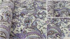 "NEW*Indonesian florenza fabric beautiful multi coloured pasiley print 58""wide"