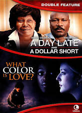 A Day Late & A Dollar Short/ What Color Is Love - Double Feature [DVD] by Rhame