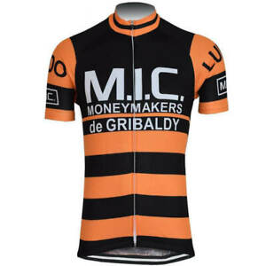 MIC Moneymakers de GRIBALDY cycling Short Sleeve Jersey mens Cycling Jersey