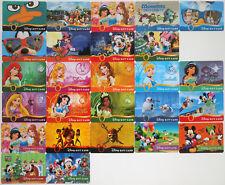 24 Disney Gift Cards 2013-2014: Princesses, Monsters Univ., Halloween, Christmas