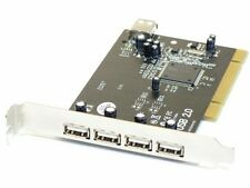 Vivanco 5 (4+1) porta USB 2.0 PCI PC interfacce CARD/Controller Card 7105049