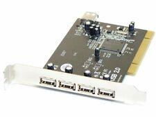 Vivanco 5 (4+1) Port USB 2.0 PCI PC Schnittstellen-Karte/Controller Card 7105049