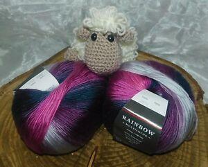 **Wunderschöne Wolle**Rainbow No. 8**100g**Farbverlauf**Wolle**Paket**6007