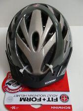 NWT SCHWINN Gray Adult Mountain Bike Helmet 14+ Yrs Bicycle Fit + Function NEW