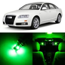 20 x Error Free Green Interior LED Lights Package For 2005-2011 Audi A6 S6 +TOOL