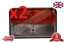 2x MASSEY FERGUSON MF 275, Mf 398 ALTRI TRATTORE ANTERIORE indicatore lampada