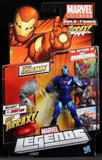 "IRON MAN EXTREMIS ( 6"" ) 2011 ( BLUE VARIANT ) MARVEL LEGENDS ACTION FIGURE #3"
