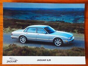 Jaguar XJR - Colour Press Publicity Photo