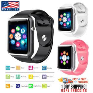 Reloj Pulsera Inteligente con Bluetooth compatible con iPhone y Android Samsung