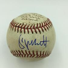 George Brett Signed Game Used Actual 2,750th Career Hit June 28,1991 PSA DNA COA