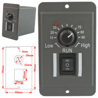 -US DC 12V 24V 36V 48V PWM Motor Speed Controller Reversible Switch 6A Regulator