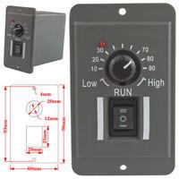 -US DC 12V 24V 36V 48V PWM Motor Speed Controller Reversible Switch 6A Regulator