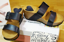 Sandales bloc LES TROPEZIENNES modèle PACHA noir 36 ..neuves