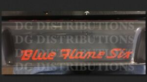 1949-1952 Chevy Blue Flame Six Valve Cover Decal fleetline bel air 210 coupe