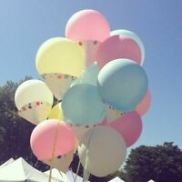 36inch 2Pcs Big latex Balloons Party Birthday Wedding Celebration Decor 12Colors