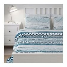 IKEA PROVINSROS Duvet Cover Set NAVY BLUE WHITE TWIN QUEEN KING NEW freepriority