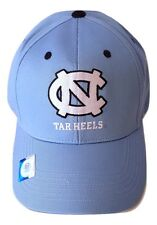 167dab5922d UNC North Carolina Tar HEELS Logo Cap Adjustable Light Blue Hat NCAA  Headwear
