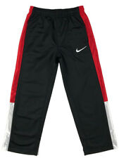 b64c19703b Nike Boys Toddler Athletic Track Sweat Pants w/Pockets Black/White/Red New