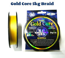 Braid Gold Core Fishing Braid Line, 5kg 200mt spool