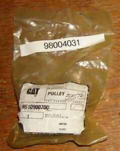 9510900700 CATERPILLAR PULLEY HOSE ROLLER NEW NOS SEALED PACKAGE