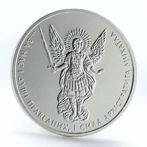 Ukraine 1 hryvna Archangel Michael silver coin 2011