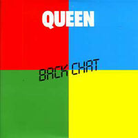 ★☆★ CD Single QUEENBack chat + UK + 2-track CARD SLEEVE