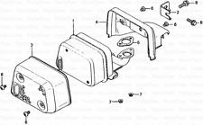 Genuine HONDA F200 Talle Rotovator Joint d'étanchéité, silencieux 18381-896-000