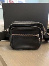 Alexander Wang Attica Leather Belt Bag  RETAIL $595 BLACK