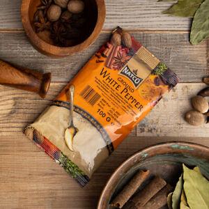 Natco Foods Ground White Pepper 100g - Chilli Wizards