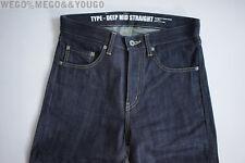 Neighborhood Raw Selvedge 11EX Deep Mid Straight Denim Japan New jeans Small 30