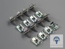 Dispositivi DI PROTEZIONE POSTERIORI protezione ingranaggi Protezione del Motore Kit per Renault Megane Scenic senza
