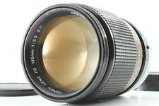 【EXT +5】Canon FD 135mm f/2.5 SC SLR 35mm Film Camera MF Telephoto Lens Japan