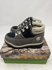 Vintage Timberland Field Boot Graphite 15830 Toddler Baby Leather Sz 9 NOS NEW