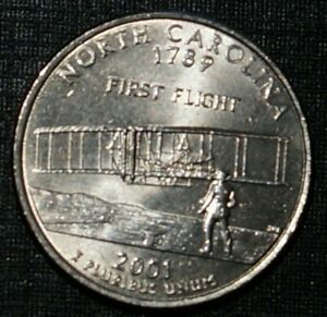 Quarter Dollar 2001-D North Carolina UNITED STATES (861A)