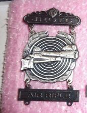 US ARMY JROTC, AIR RIFLE EXPERT BADGE, CLUTCH BACK