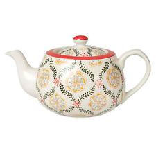 dotcomgiftshop Hand Painted Barcelona Design Stoneware Teapot
