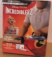 � Disney Incredibles 2,Blu-ray,4 k ultra Hd,New ‼�