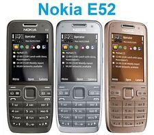ORIGINAL Nokia E E52 Silver Gray Aluminium 100% UNLOCKED Smartphone 2016 FREE 99