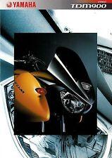 Prospectus Yamaha TDM 900 2002