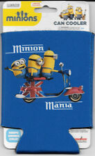 Minions Movie Stuart Kevin & Bob Minion Mania Beer Huggie Can Cooler Koozie NEW