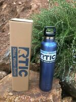 RTIC 26oz Bottle Double Wall Vacuum Insulated Stainless Blue 1173