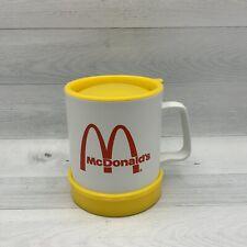 Vintage McDonalds Precisioncraft Duracraft Plastic Travel Mug Coffee Cup