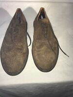 Hush Puppies Missouri Mens Brown Suede Lace Up Shoes Uk 12 Ref Ba17