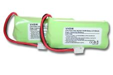 2x Batterie 600mAh 2.4V pour Philips H-AAA500X2