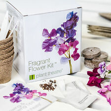 Seed Starter Growing Gift Kit Fragrant Flower - Grow Your Own Plant Theatre