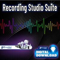 Recording Studio Suite, Professional Audio Editing Recording Software MP3 Audio