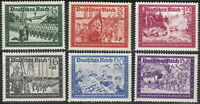 Stamp Germany Mi 773-8 Sc B151-8a 1941 WW2 Postal Office Fellowship Reich MNH