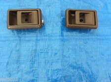 Toyota Landcruiser inner door handle pair 75 & 79 series  ute, Troopy Dark Brown